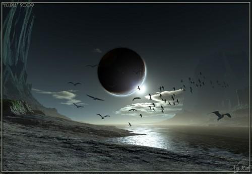 Лунное затмение 16 сентября